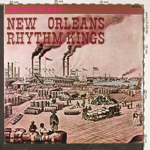 New Orleans Rhythm Kings: History Of Jazz, 12 Tr., Joker(SM 3092/E), I, 1971 - LP - E3705 - 5,00 Euro