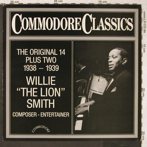 "Willie""The Lion""Smith: The Original 14 Plus Two, Commodore(6.25491 AG), D, 1983 - LP - E6520 - 6,00 Euro"