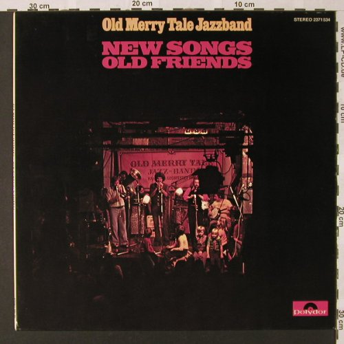 Old Merry Tale Jazzband: New Songs Old Friends, Polydor(2371 534), D, 1975 - LP - E9128 - 6,50 Euro