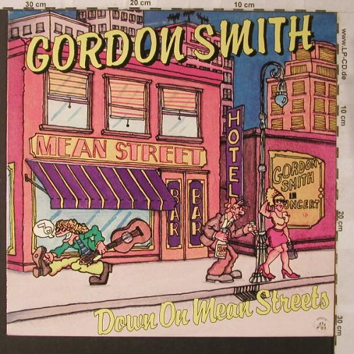 Smith,Gordon: Down On The Mean Streets, Appaloosa(AP 005), I, 1980 - LP - F1139 - 7,50 Euro
