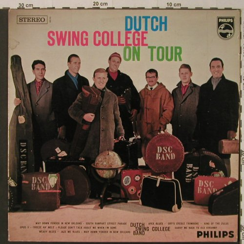 Dutch Swing College Band: On Tour, Philips(840 316 PY), NL,  - LP - F5308 - 7,50 Euro