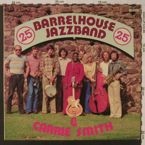 Barrelhouse Jazzband & Carrie Smith: Same (25), Intercord(INT 145.017), D, 1979 - LP - F5773 - 6,00 Euro