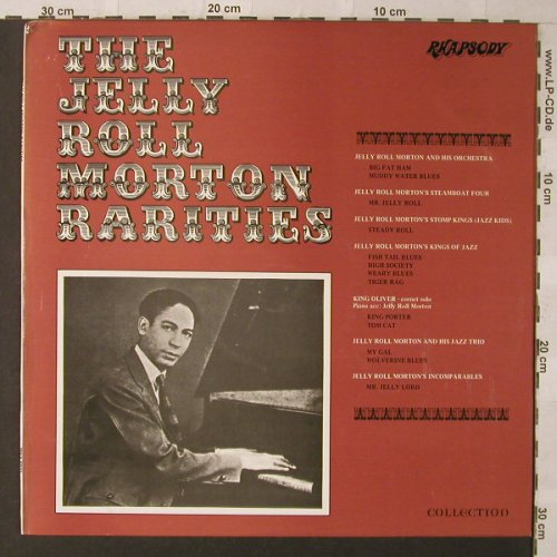 Morton,Jelly Roll: The J.R.Morton Rarities, Rhapsody(RHA 6021), UK,  - LP - F902 - 5,00 Euro