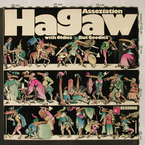 Assoziation Hagaw: With Oldies But Goodies, MPS/BASF(CRF 889), D, 1971 - LP - H2599 - 7,50 Euro