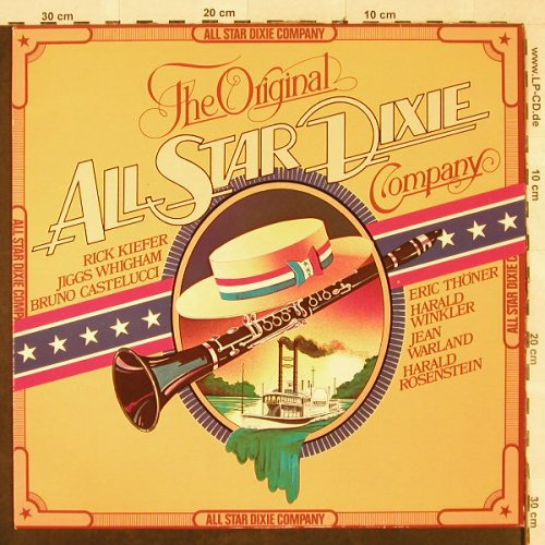 Original All Star Dixie Company: Same, Marifon(47 923 ET), D, 1980 - LP - H3113 - 5,50 Euro