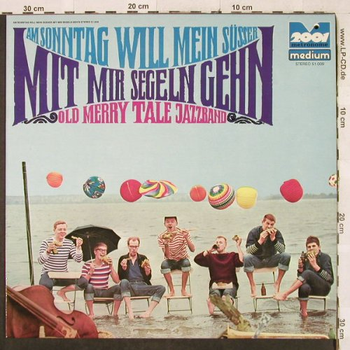 Old Merry Tale Jazzband: Am Sonntag will mein Süsser mit..., 2001/MetronomeMedium(51.009), D, Ri, co, 1961 - LP - H3190 - 6,00 Euro