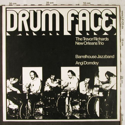V.A.Drum Face: Trevor Richards,Barrelh.,Domdey, Phonola Records(PR 7017), D, 1977 - LP - H3485 - 5,00 Euro