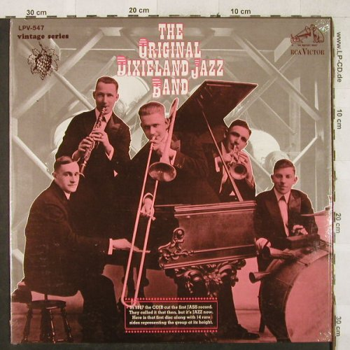 Original Dixieland Jazz Band: Same, FS-New, RCA-Vintage Serie(LPV-547), US, 1967 - LP - H3513 - 9,00 Euro