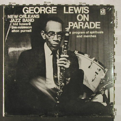 Lewis,George: On Parade, FS-New, Delmark(202), US, 1970 - LP - H5025 - 9,00 Euro