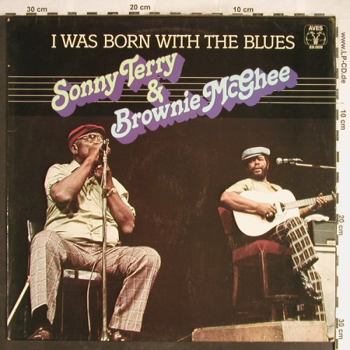 Terry,Sonny & Brownie Mc Ghee: I Was Born With The Blues, m-/vg+, Aves(59.009), D,Ri,  - LP - H6388 - 7,50 Euro