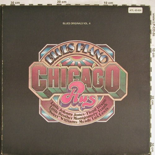 V.A.Blues Piano: Chicago,Plus 14 Tr.,Foc, Ri, m-/vg+, Atlantic,Warenprobe(ATL 40 404), D/US-Cover, 1972 - LP - H6505 - 6,00 Euro