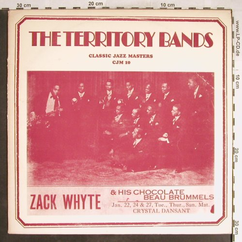 Zack Whyte & his Chocolate BeauBrum: The Territory Bands, Classic Jazz Masters(CJM 10), vg+/vg+,  - LP - H6530 - 5,00 Euro