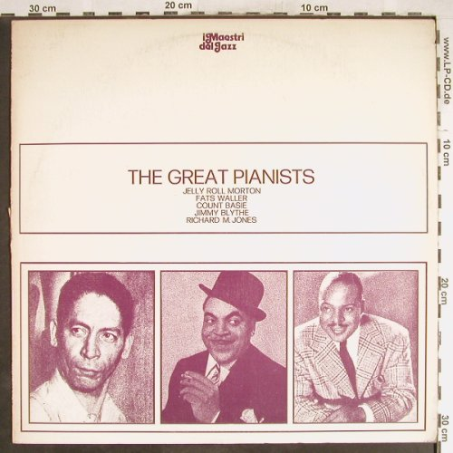 V.A.Great Pianists: Jerry Roll Morton...Richard M.Jones, Family(SFR-DP 695), I, m-/vg+,  - LP - H6562 - 3,00 Euro