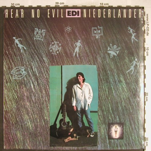 Niederlander,Edi: Hear No Evil, FS-New, Mountain(MOULP(Y) 56), , 1989 - LP - H6602 - 5,00 Euro