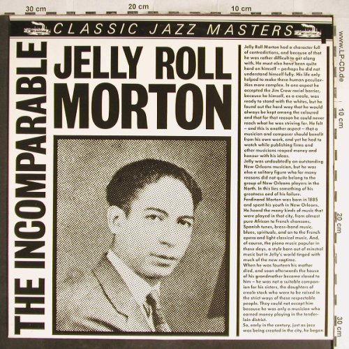 Morton,Jelly Roll: The Incomparable, Classic Jazz Masters(CJM 88509), D,  - LP - H6613 - 5,00 Euro
