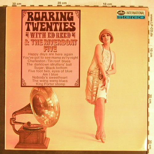 Roaring Twenties: with Ed Reed & Riverboat Five, Mercury,Archiv-Stoc(134 617 MFY), D, 1969 - LP - H6678 - 6,00 Euro