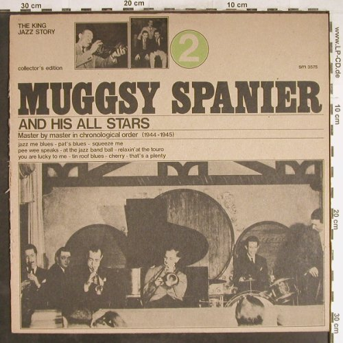 Spanier,Muggsy & his All Stars: Vol.2, m-/vg+, Joker(SM 3575), I, 1973 - LP - H6733 - 4,00 Euro