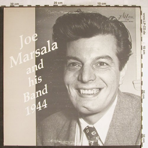 Marsala,Joe  and his Band: 1944, Jazzology(J-106), US,Mono, 1983 - LP - H6766 - 12,50 Euro