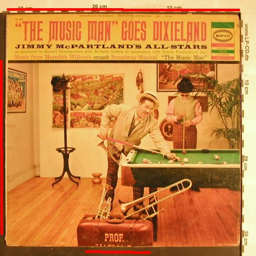 McPartland,Jimmy  All Stars: The Musix Man goes Dixieland, Epic,Signiert, toc(LN 3463), US,m-/VG--,  - LP - H6773 - 10,00 Euro