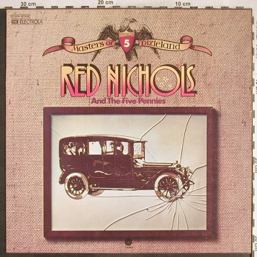 Nichols,Red & Five Pennies: Masters Of Dixieland Vol.5, Capitol(C 054-81 848), D,  - LP - H6948 - 5,00 Euro