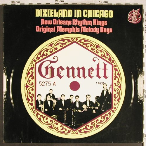 New Orleans Rhythm Kings/O.M.M.Boys: Dixieland in Chicago, Jazz Story(40.008), D,  - LP - H7037 - 5,00 Euro