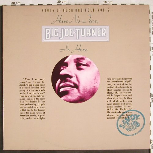 Turner,Big Joe: Have No Tear...Roots o.R'n'R Vol.2, Savoy(WL 70822(2)), D, Foc, 1977 - 2LP - H7237 - 9,00 Euro
