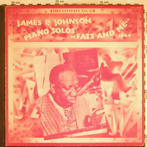 Johnson,James P.: Piano Solos, Fats and Me,1944, MCA(510.085), F, m-/Vg+,  - LP - H7709 - 4,00 Euro