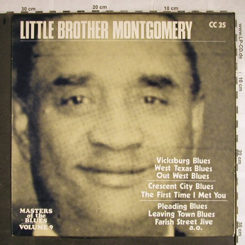 Little Brother Montgomery: Masters o.the BluesVol.9 MusterStol, Collector's Classics(CC 35), D,  - LP - H8572 - 6,00 Euro