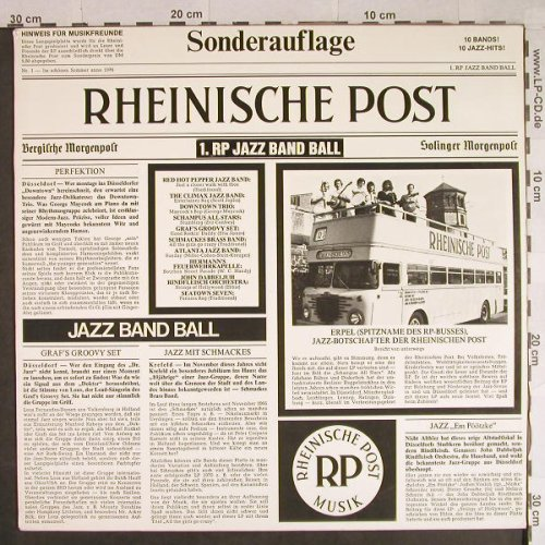 V.A.1.RP-Jazz Band Ball: Red Hot Pepper...Seetown Seven, Rheinische Post(RP 76001), D, 1976 - LP - H933 - 7,50 Euro
