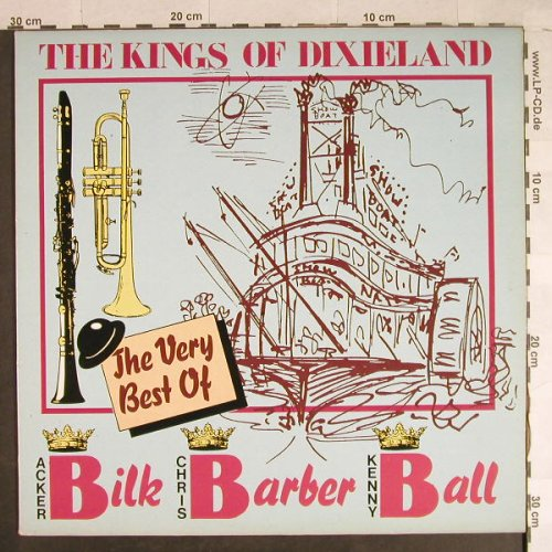 Kings Of Dixieland: Bilk Barber Ball - The Very Best of, PRT(PRLP 09), I, 1987 - LP - H941 - 5,00 Euro