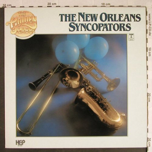 New Orleans Syncopators: Same - The Golden Label Serie, HEP Record(HN 4281), EEC,  - LP - H949 - 5,50 Euro