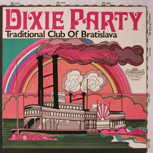 Traditional  Club of Bratislava: Dixie Party, Intercord(28 709-8), D,  - LP - X2684 - 5,50 Euro