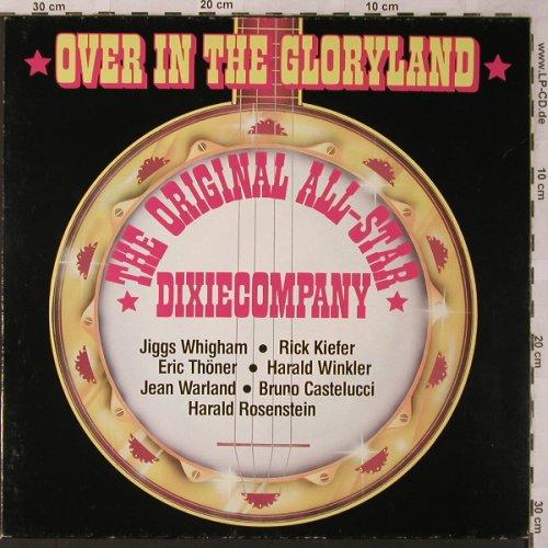 Original All Star Dixie Company: Over in the Gloryland, SR(66 242 9), D,Club Ed., 1977 - LP - X2744 - 5,00 Euro