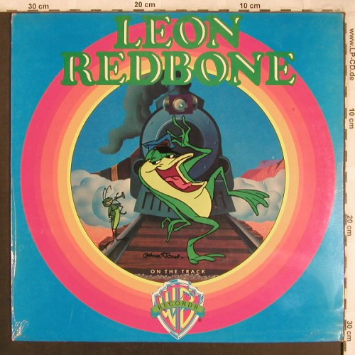 Redbone,Leon: On The Track, FS-New, WB(WB 56 173), D, 1975 - LP - X4482 - 15,00 Euro