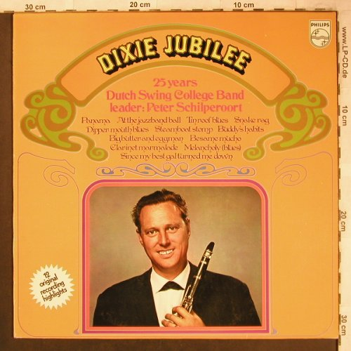 Dutch Swing College Band: Dixie Jubilee-25 Years, Philips(6830 015), NL,  - LP - X4649 - 6,00 Euro