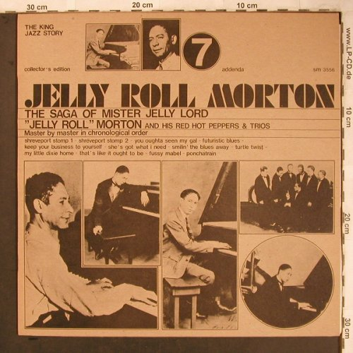 Morton,Jelly Roll: The Saga of Mister Jelly Lord (7), Joker(SM 3556), I, 1973 - LP - X4684 - 5,00 Euro