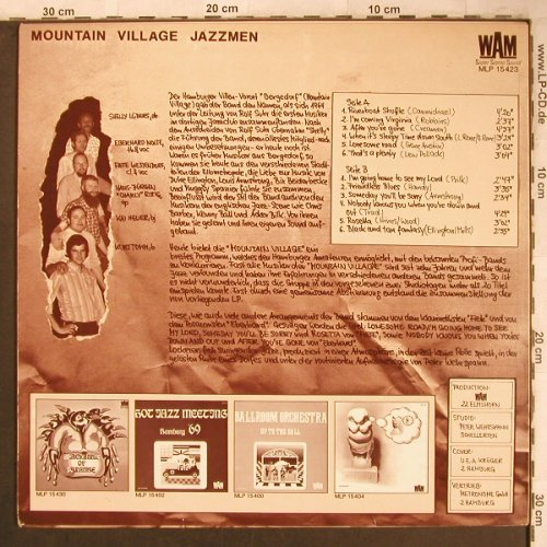 Mountain Village Jazzmen: Same, WAM(MLP 15 423), D, 1972 - LP - X4735 - 7,50 Euro