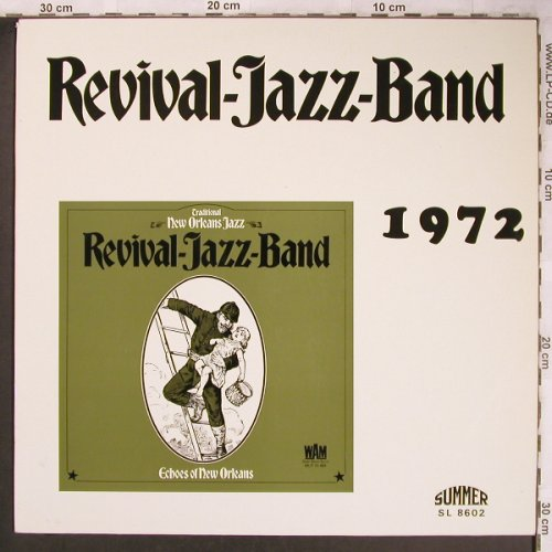 Revival Jazz Band: 1972,Echoes Of New Orleans, Summer(SL 8602), D,  - LP - X4799 - 7,50 Euro