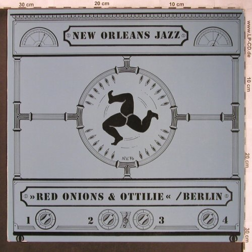 Red Onions & Ottilie / Berlin: New Orleans Jazz, (Privat Press.)(1293301), D, 1976 - LP - X4815 - 9,00 Euro