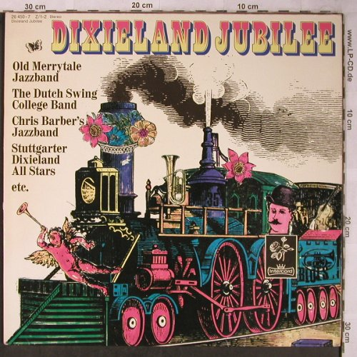 V.A.Dixieland Jubilee: Old Merry Tale...Harlem Ramblers, Intercord(26 450-7 Z /1-2), D, 1974 - 2LP - X5522 - 7,50 Euro