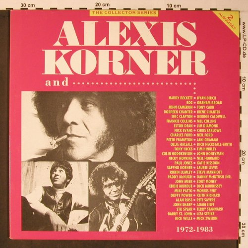 Korner,Alexis: and..., 1972-1983, Foc, Collector Series(CCSLP 192), UK, Ri,  - 2LP - X5947 - 11,50 Euro