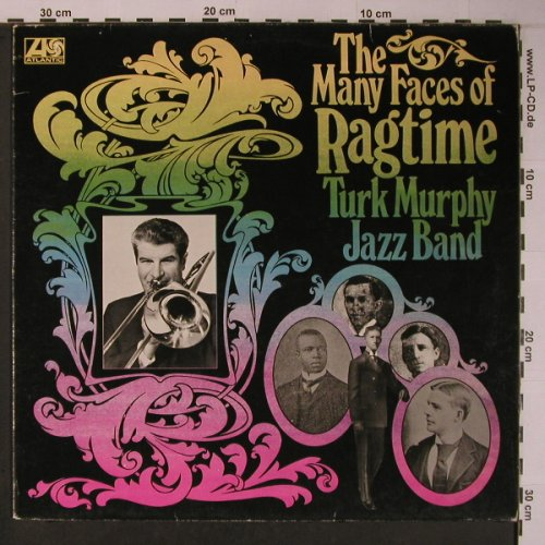 Turk Murphy Jazzband: The Many Faces of, Atlantic(ATL 40 502), D, 1972 - LP - X6253 - 6,00 Euro