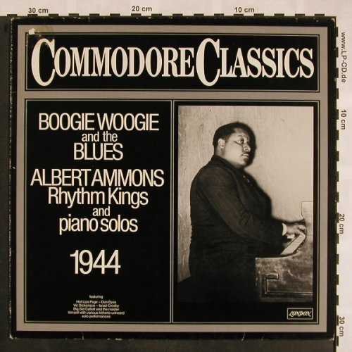 Ammons,Albert/RhythmKings/PianoSolo: Boogie Woogie and the Blues, Commodore(6.24297 AG), D,vg+/vg+, 1980 - LP - X826 - 5,00 Euro