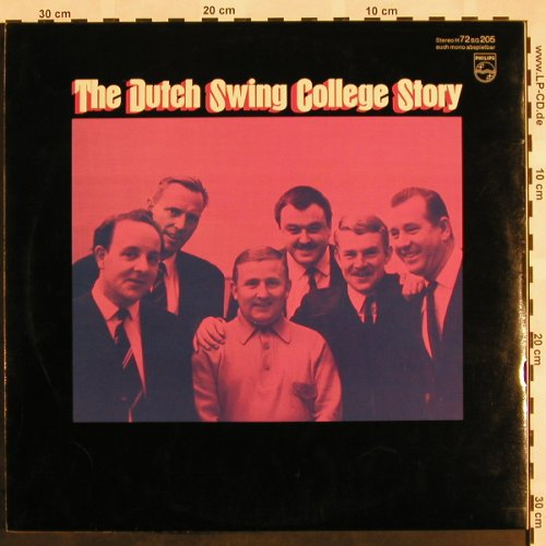 Dutch Swing College Band: The D.S.C.Band Story,Foc, Philips(H 72 BG205), D, 1969 - 2LP - X966 - 7,50 Euro