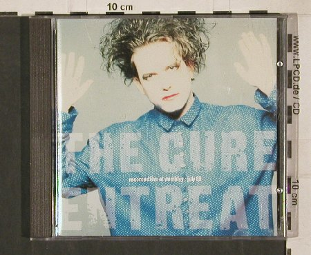 Cure: Entreat Live Wembley'89, Fiction(843 859-2), EU, 1990 - CD - 50265 - 5,00 Euro