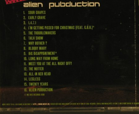 Peter & Test Tube Babie: Alien Pubduction, m-/vg+, We Bite(), D,  - CD - 50306 - 5,00 Euro