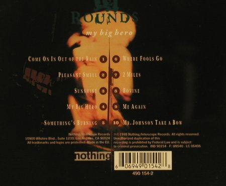 12 Rounds: My Big Hero, Interscope(), EEC, 98 - CD - 50407 - 4,00 Euro