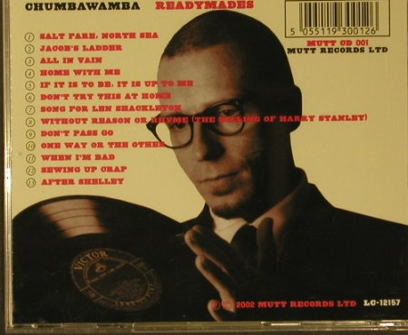 Chumbawamba: Readymades, Mutt Records Ltd.(001), EU, 2002 - CD - 50425 - 5,00 Euro