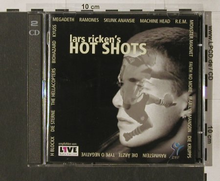 V.A.Lars Ricken's Hotshot: Megadeth,Skunk Anansie, Ärzte.., Our Choice(), D, 1998 - 2CD - 50516 - 10,00 Euro