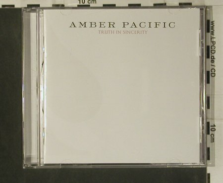 Amber Pacific: Truth in Sincerity, co, Hopeless(), US, 2007 - CD - 50541 - 5,00 Euro